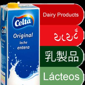 Lácteos y Cacaos